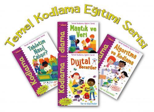 Kodlama-Temel Kodlama Eğitimi Serisi 4 Kitap