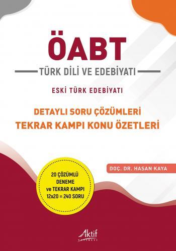 ÖABT Türk Dili ve Edebiyatı - Eski Türk Edebiyatı Hasan Kaya