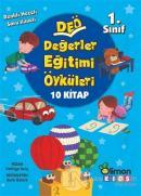 1. Sınıf DEÖ Değerler Eğitimi Öyküleri - (10 Kitap Takım)