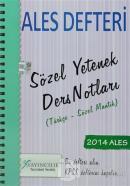 2014 ALES Defteri Sözel Yetenek Ders Notları