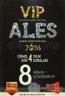 2016 ALES VIP Son 4 Yılın Çıkmış Soruları 8 Sınav + Çözümleri