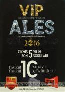2016 ALES VIP Son 5 Yılın Çıkmış Soruları Fasikül 10 Sınav + Çözümleri