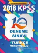 2018 KPSS ÖABT Türkçe Öğretmenliği 10 Çözümlü Deneme Sınavı