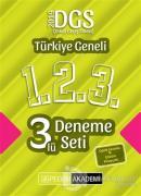 2019 DGS Türkiye Geneli Deneme (1.2.3) 3'lü Deneme Seti