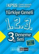 2019 KPSS Genel Yetenek Genel Kültür Türkiye Geneli Deneme (1.2.3) 3'lü Deneme Seti
