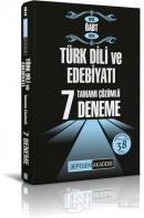2019 KPSS ÖABT Türk Dili ve Edebiyatı Tamamı Çözümlü 7 Deneme