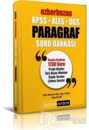 2022 KPSS ALES DGS Ezberbozan Paragraf Soru Bankası