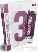 2020 ÖABT Beden Eğitimi Öğretmenliği PDF Çözümlü 3 lü Deneme Seti