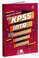 2021 KPSS Intro 30 Vatandaşlık Deneme Çözümlü