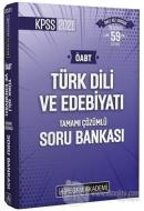 2021 KPSS Türk Dili ve Edebiyatı Tamamı Çözümlü Soru Bankası