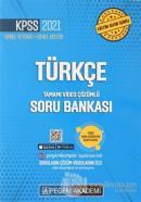 2021 KPSS Türkçe Genel Yetenek Genel Kültür Soru Bankası