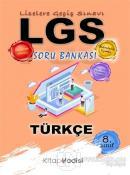 2021 LGS 8. Sınıf Türkçe Soru Bankası