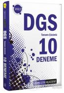 2022 DGS Tamamı Çözümlü 10 Deneme
