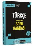 2022 KPSS ÖABT Türkçe Tamamı Çözümlü Soru Bankası
