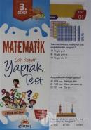 3. Sınıf Matematik Çek Kopar Yaprak Test