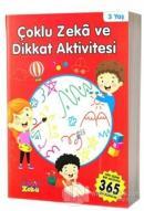 3 Yaş Çoklu Zeka ve Dikkat Aktivitesi - Kırmızı Kitap