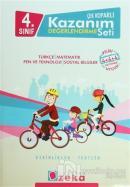 4. Sınıf Çek Koparlı Kazanım Değerlendirme Seti Türkçe - Matematik - Fen ve Teknoloji - Sosyal Bilgiler
