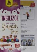 4. Sınıf İngilizce Çek Kopar Yaprak Test