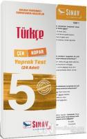 5. Sınıf Türkçe Çek Kopar Yaprak Test