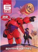 6 Süper Kahraman : Çıkartmalı Boyama Kitabı
