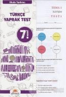 7.Sınıf Okula Yardımcı Türkçe Yaprak Test