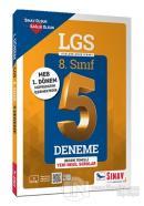 8. Sınıf 1. Dönem LGS Çözümlü 5 Deneme