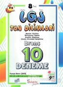 8. Sınıf LGS Fen Bilimleri 10 Deneme
