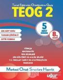 8. Sınıf TEOG 2 Çözümlü 5 Adet Deneme (Kutulu)