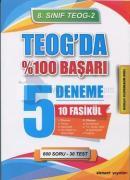 8. Sınıf TEOG 2-TEOG'da %100 Başarı 5 Deneme 10 Fasikül