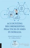 Accounting Recordkeeping Practices In Smes In Somalia