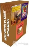 Aksoy Kültür ve Sanat Seti (3 Kitap Takım) (Ciltli)