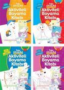 Aktiviteli Boyama Kitapları Seti (4 Kitap Takım)