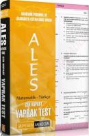 ALES Çek Kopar Yaprak Test Matematik - Türkçe
