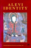 Alevi IdentityCultural, Religious and Social Perspectives
