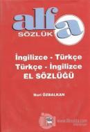 Alfa Sözlük İngilizce - Türkçe Türkçe - İngilizce El Sözlüğü