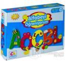 Alfabeyi Öğreniyorum - Okul Öncesi Eğitici-Öğretici Oyun Seti (+3 Yaş)