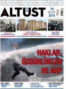 Altüst Dergisi Sayı: 18 / Ocak - Mart 2016