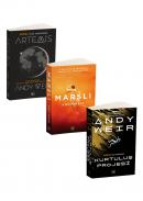 Andy Weir 3 Kitap Takım