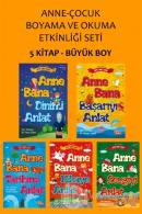 Anne-Çocuk Boyama ve Okuma Etkinliği Seti (5 Kitap Takım)