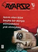 Ayarsız Aylık Fikir, Kültür, Sanat ve Edebiyat Dergisi Sayı: 43 Eylül 2019