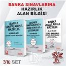 Banka Sınavlarına Hazırlık Alan Bilgisi (3 Kitap Takım)