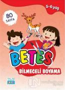 Betes Bilmeceli Boyama