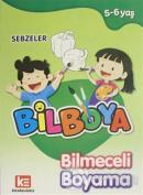 Bilboya Bilmeceli Boyama - Sebzeler