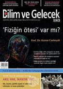 Bilim ve Gelecek Dergisi Sayı: 183 Mayıs 2019