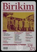 Birikim Aylık Sosyalist Kültür Dergisi Sayı: 374 - 375 Haziran-Temmuz 2020