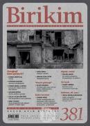 Birikim Aylık Sosyalist Kültür Dergisi Sayı: 381 Ocak 2021