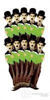Charlie Chaplin - 10'lu Lazer Kesim Ayraç