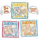 Çocuklar İçin Sudoku Seti (5+ Yaş) (3 Kitap Takım)