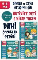 Dahi Çocuklar Aktivite Seti 5-6 Yaş (3 Kitap Takım)