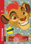 Disney Aslan Koruyucular - Maskeli Boyama Kitabı